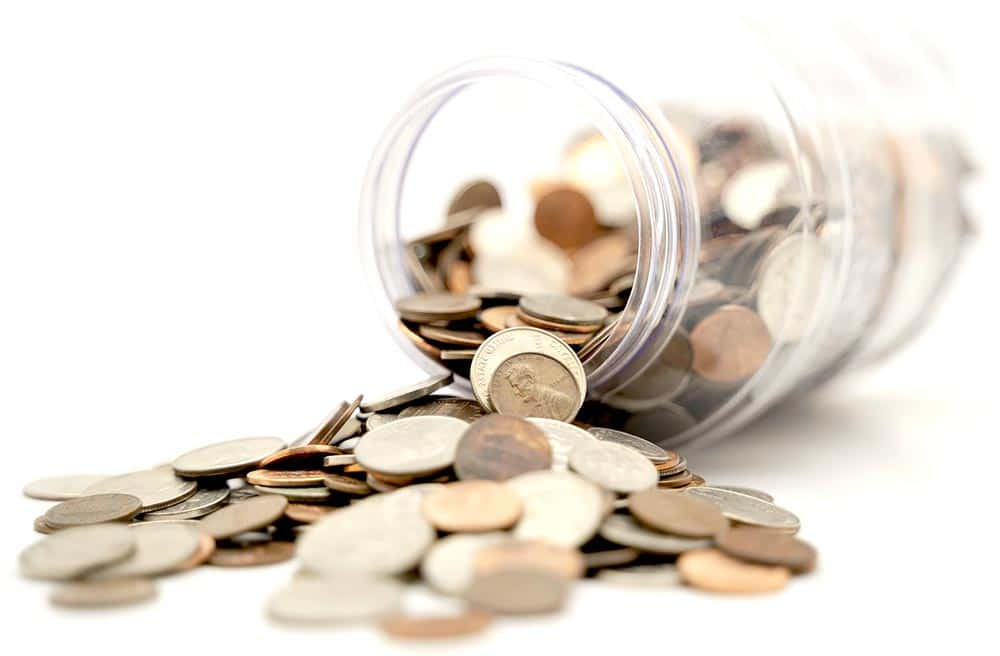 Payment Plus Option picture of a penny jar